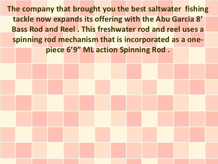 A Bass Fishing Tackle  Skilled Weapon