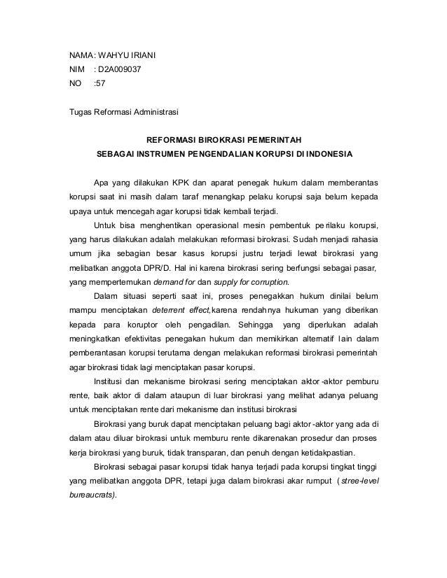 58597539 reformasi-birokrasi-pemerintah