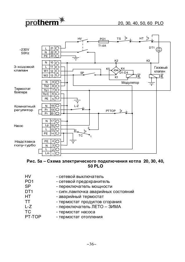 5а – Схема электрического
