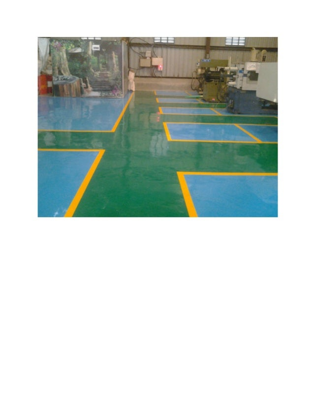 JAY GUURU ASSOCIATES-PUNE-PICTURE OF EPOXY SL-PU FLOOR COATING-SPORTS GROUND COATING WORK.-01-02-2015.