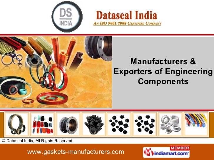 Manufacturers & Exporters of Engineering Components
