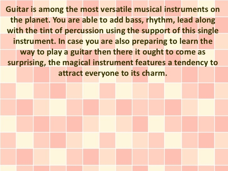 Learn guitar notes utilizing the magical instrument