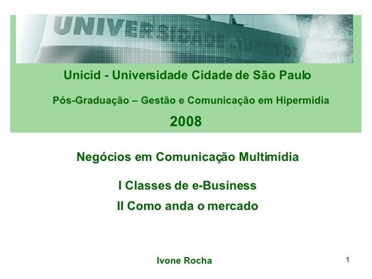 5a Aula Classes E Business
