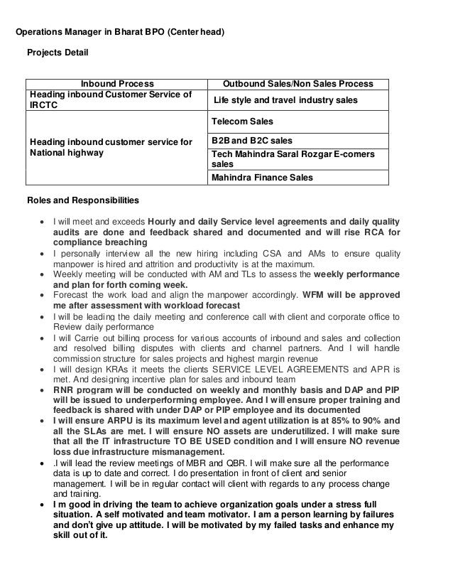 Resume For Travel Agent