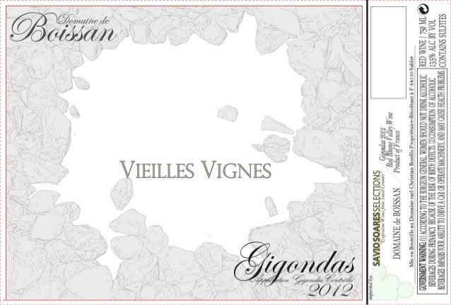 Boissan Ventoux Label - Stones NEW2