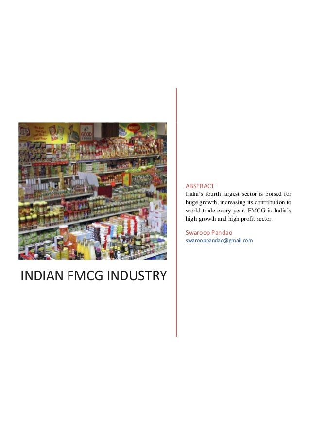 fast moving consumer goods in india Fast moving & durable consumer goods manufacturing unit and  the rural fmcg market in india is expected to grow at a cagr of 146 per.