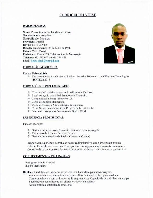 CV + Declaração de Nota