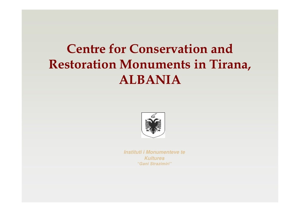 Mr. Apollon Bace, Centre of Monuments of Culture in Tirana, ALBANIA - First Meeting of the Regional Centres for Cultural Heritage in South-Eastern Europe - March 2012, Croatia