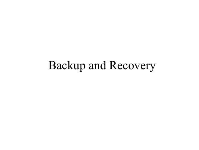 5 backuprecoveryw imp