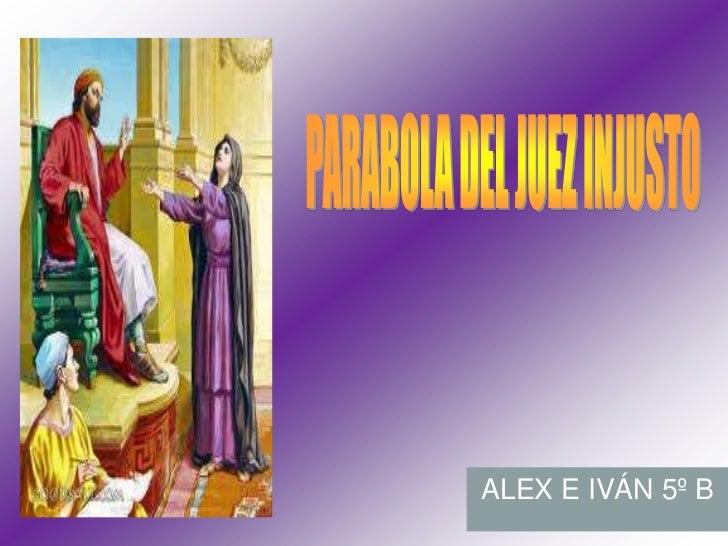ALEX E IVÁN 5º B