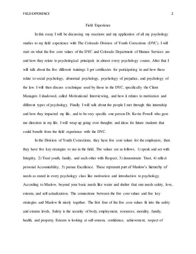 How is my essay? any corrections?