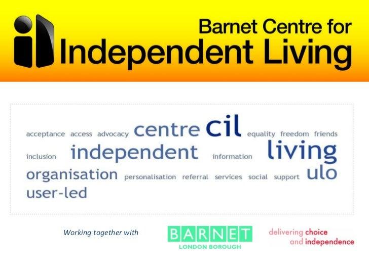 5 bcil presentation for Barnet LINk event
