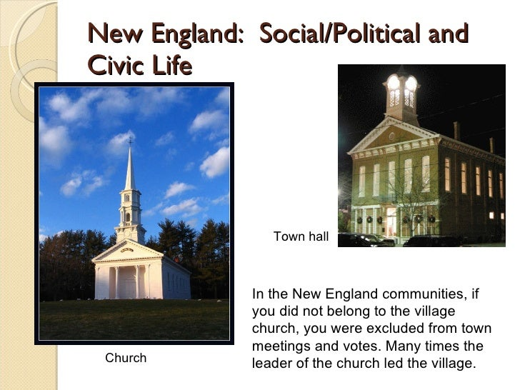 Colonial-era new england town meeting and the virginia ...
