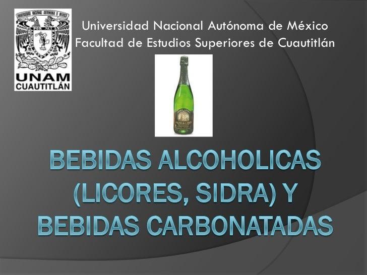 Universidad Nacional Autónoma de MéxicoFacultad de Estudios Superiores de Cuautitlán