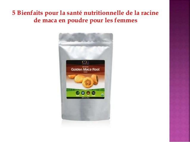 5 Bienfaits pour la santé nutritionnelle de la racine de maca en poudre pour les femmes