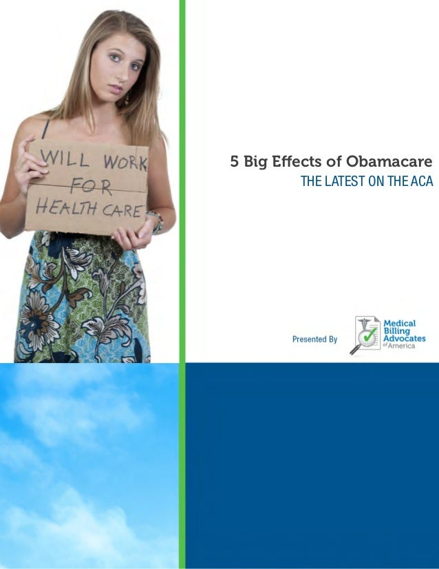 5 Big Effects of Obamacare