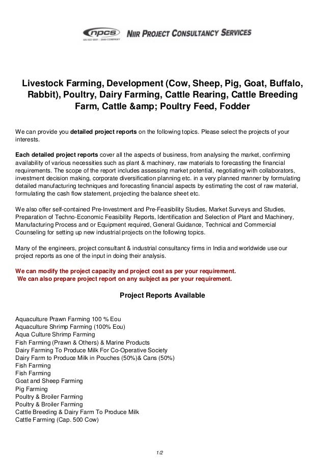 Livestock Farming, Development (Cow, Sheep, Pig, Goat, Buffalo, Rabbit), Poultry, Dairy Farming, Cattle Rearing, Cattle Br...