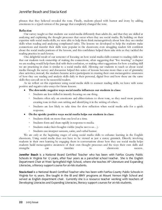 new jersey english journal 2013. Black Bedroom Furniture Sets. Home Design Ideas