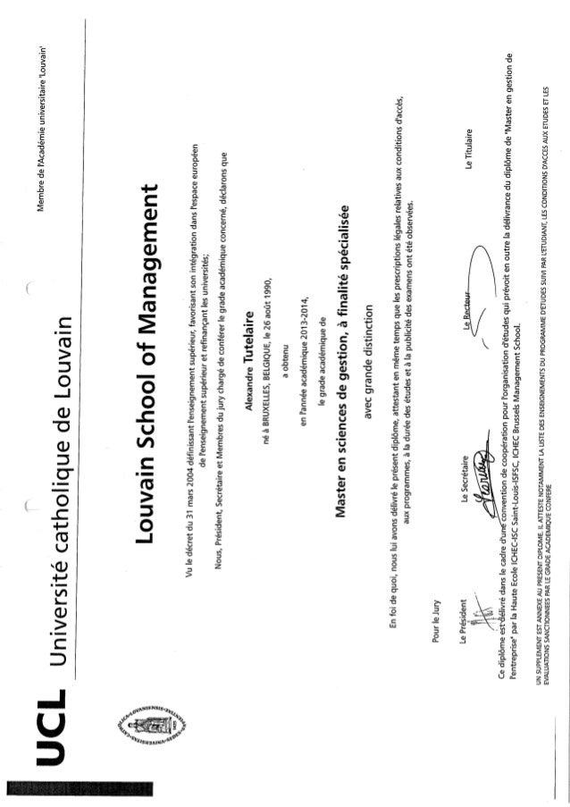Diplome_LouvainLSM_Master et ECT points