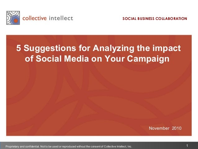 5 Suggestions for Analyzing Social Media