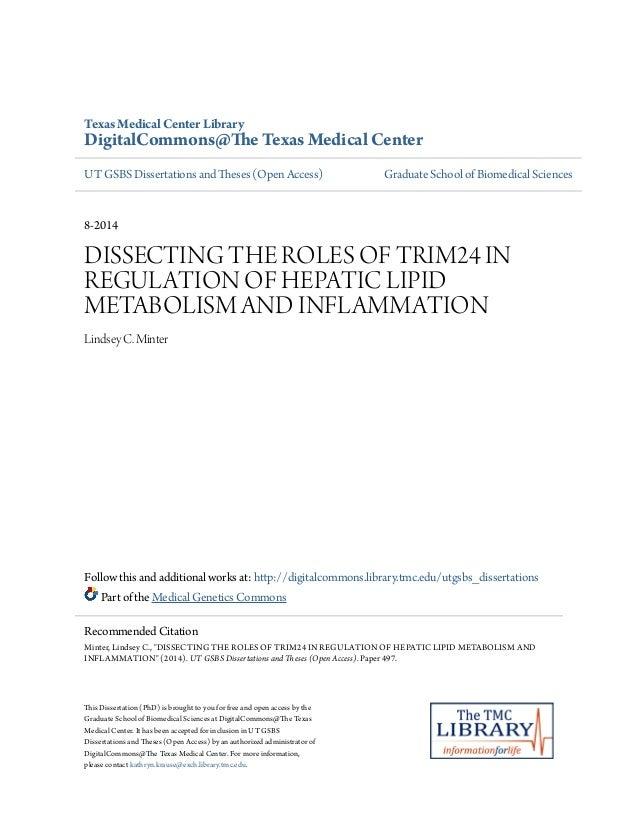 ... Medical CenterUT GSBS Dissertations and Theses (Open Access) Gradua
