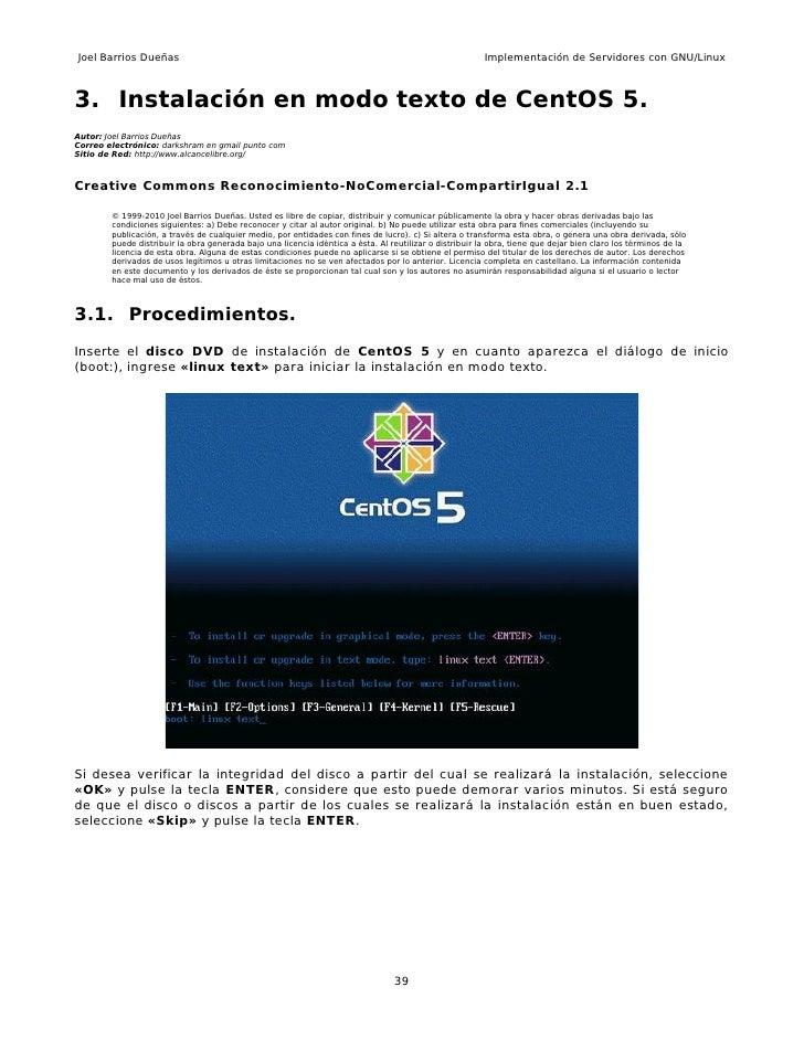 Joel Barrios Dueñas                                                                                      Implementación de...