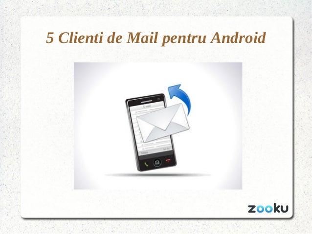 5 Clienti de Mail pentru Android