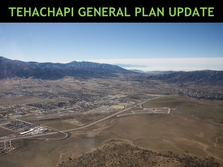 TEHACHAPI GENERAL PLAN UPDATE