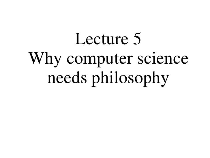 Computer Science and Ontology
