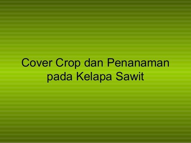 Cara menanam kelapa sawit pdf