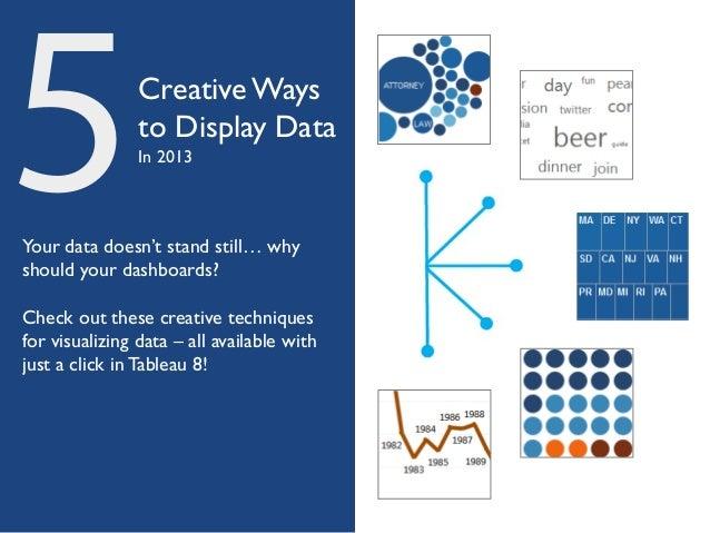 5 Creative Ways to Display Data