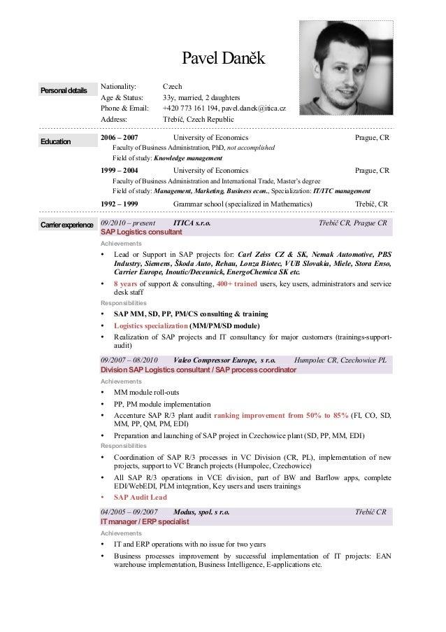 education on resume example