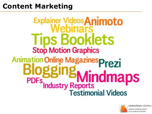 Content Marketing - Conscious Solutions - Digital Marketing Masterclass