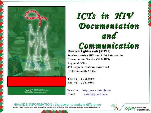 ICTs in HIV                                                                                                 Documentation ...