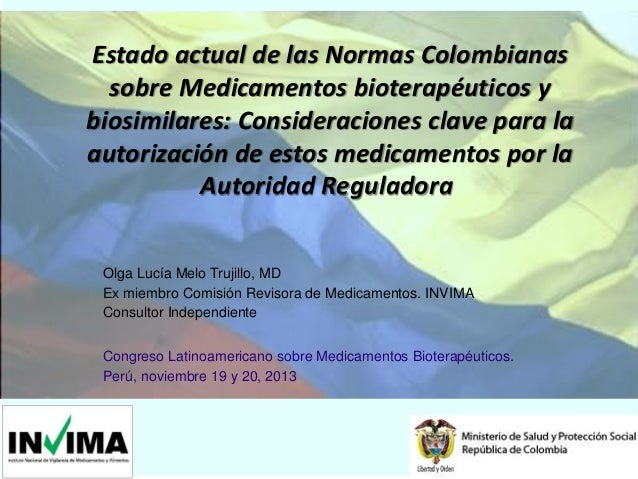 5 Dr Olga Lucía Melo   Former INVIMA