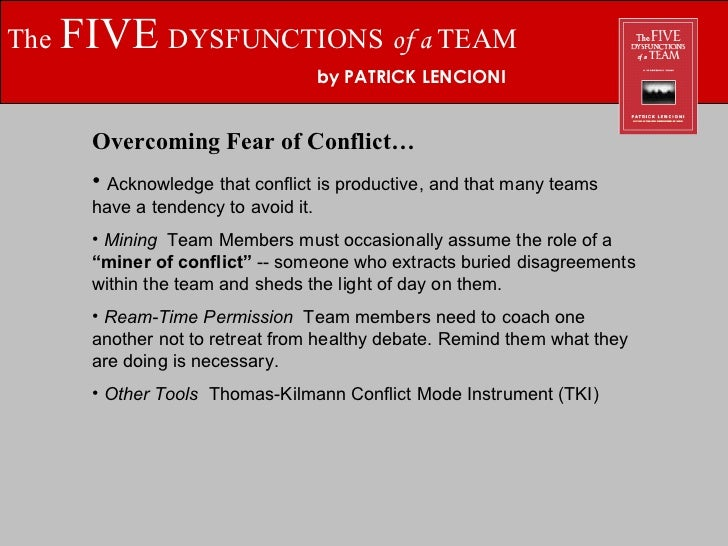 The Five Dysfunctions Of A Team Epub Download