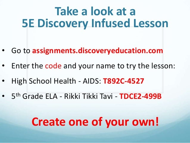 Assignments.discoveryeducation.com