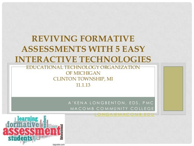 Reviving Formative Assessments with 5 Easy Interactive Technologies