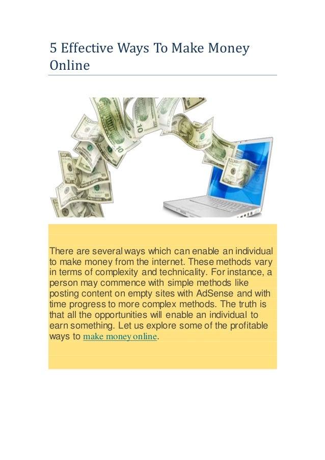 ways to make money online in south africa