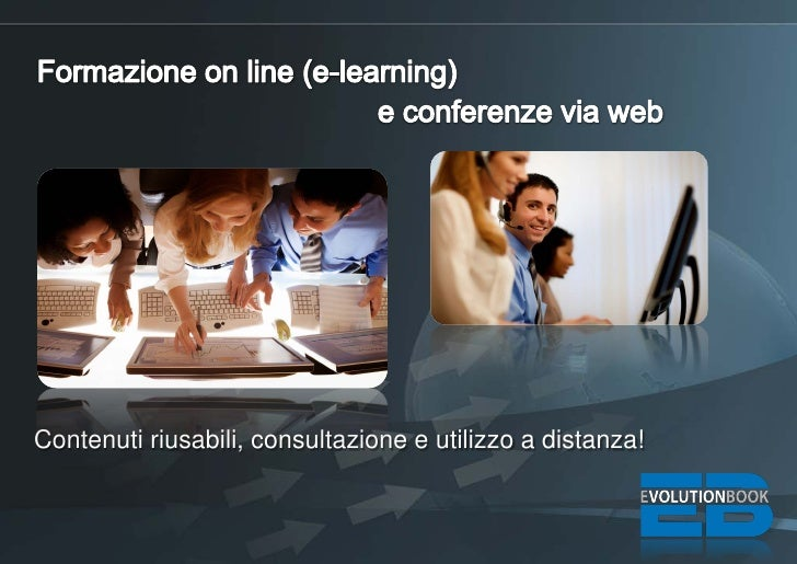 Formazione on line (e-learning) e conferenze via web