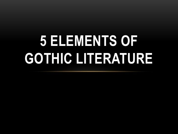 """gothic writing elements Influence which eventually resulted in a literary genre called """"gothic novel,""""   distinct american gothic genre, which utilizes different recurring elements and."""