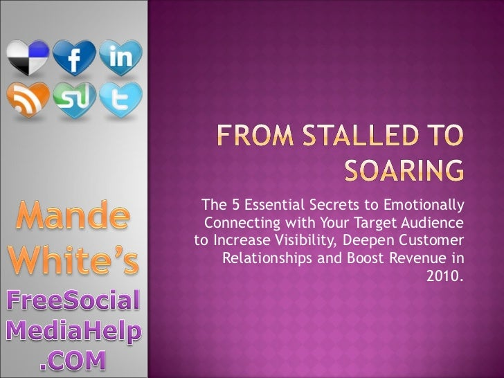 Social Media Marketing: From Stalled to Soaring