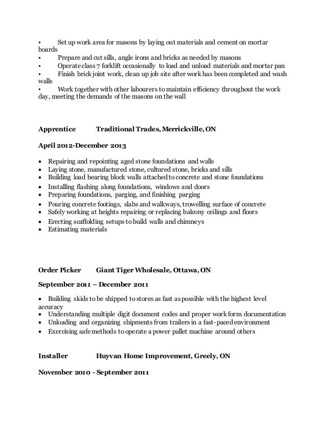 resume set up resume ideas