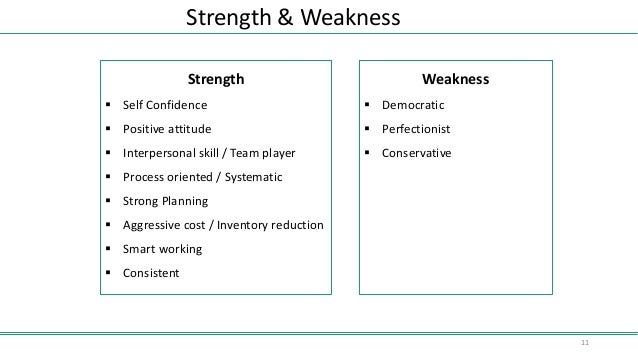 strength and weakness of research paper