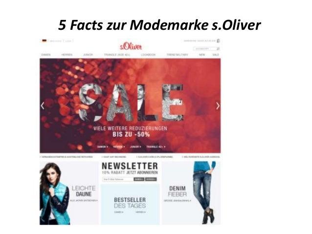 5 Facts zur Modemarke s.Oliver
