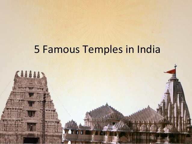 5 Famous Temples in India