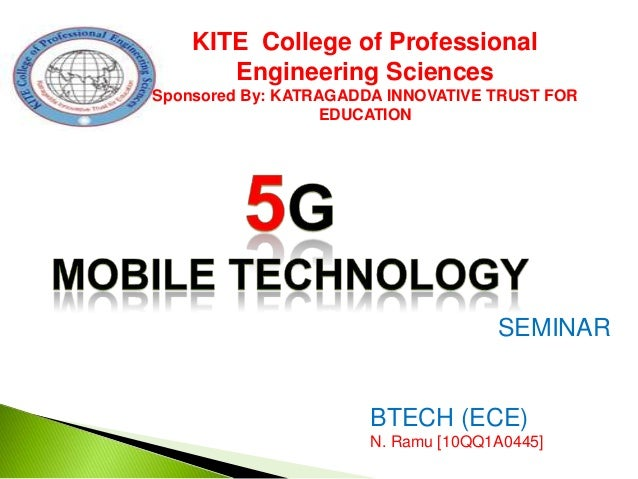 KITE College of Professional Engineering Sciences Sponsored By: KATRAGADDA INNOVATIVE TRUST FOR EDUCATION  SEMINAR  BTECH ...
