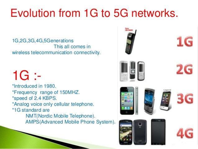 5 g for Architecture 2g 3g 4g