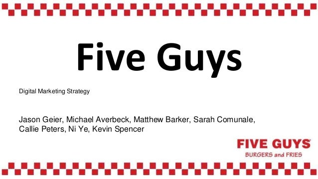 five guys business analysis Success in business means  our industry briefing & forecasts service offers five-year forecasts, analysis of key  the economist intelligence unit built a.