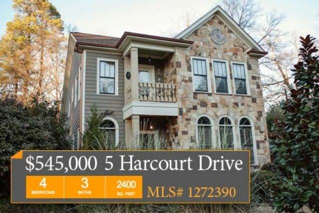 5 Harcourt Drive, Greenville, SC 29601  $545,000